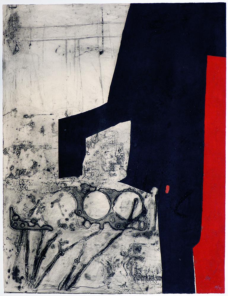 Instrument bande rouge - ANTONI CLAVÉ - ACL 0022