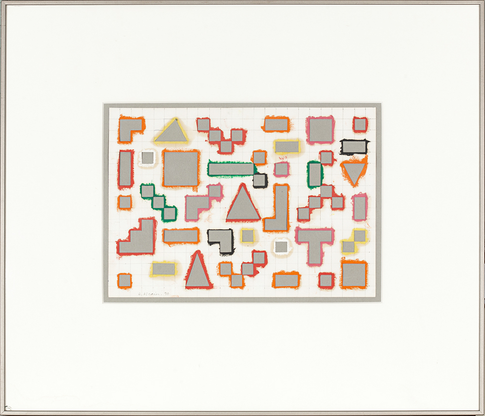 Geométrico - ALFREDO ALCAÍN - GAA 04/01
